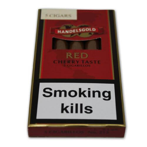 Handelsgold Red Cigarillos Pack of 5 Free Postage